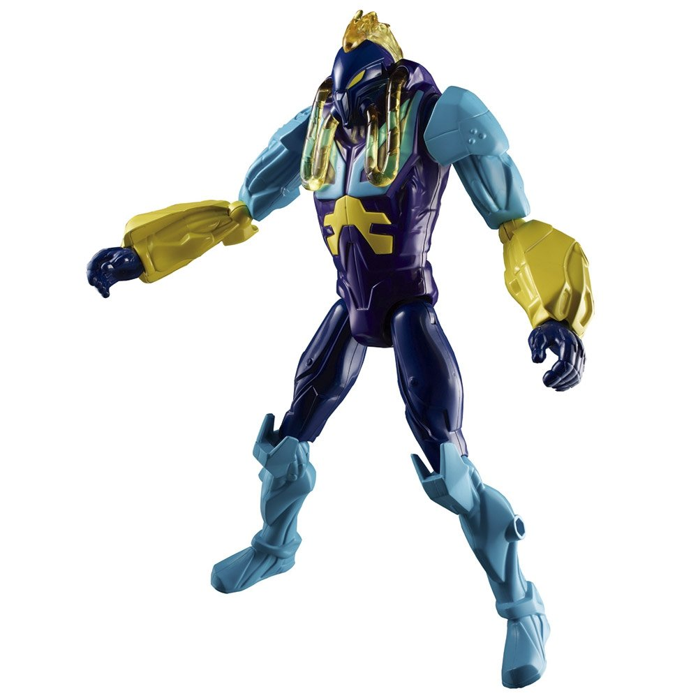 Boneco Max Steel 30cm Toxzon Garra 11 Articulações Mattel