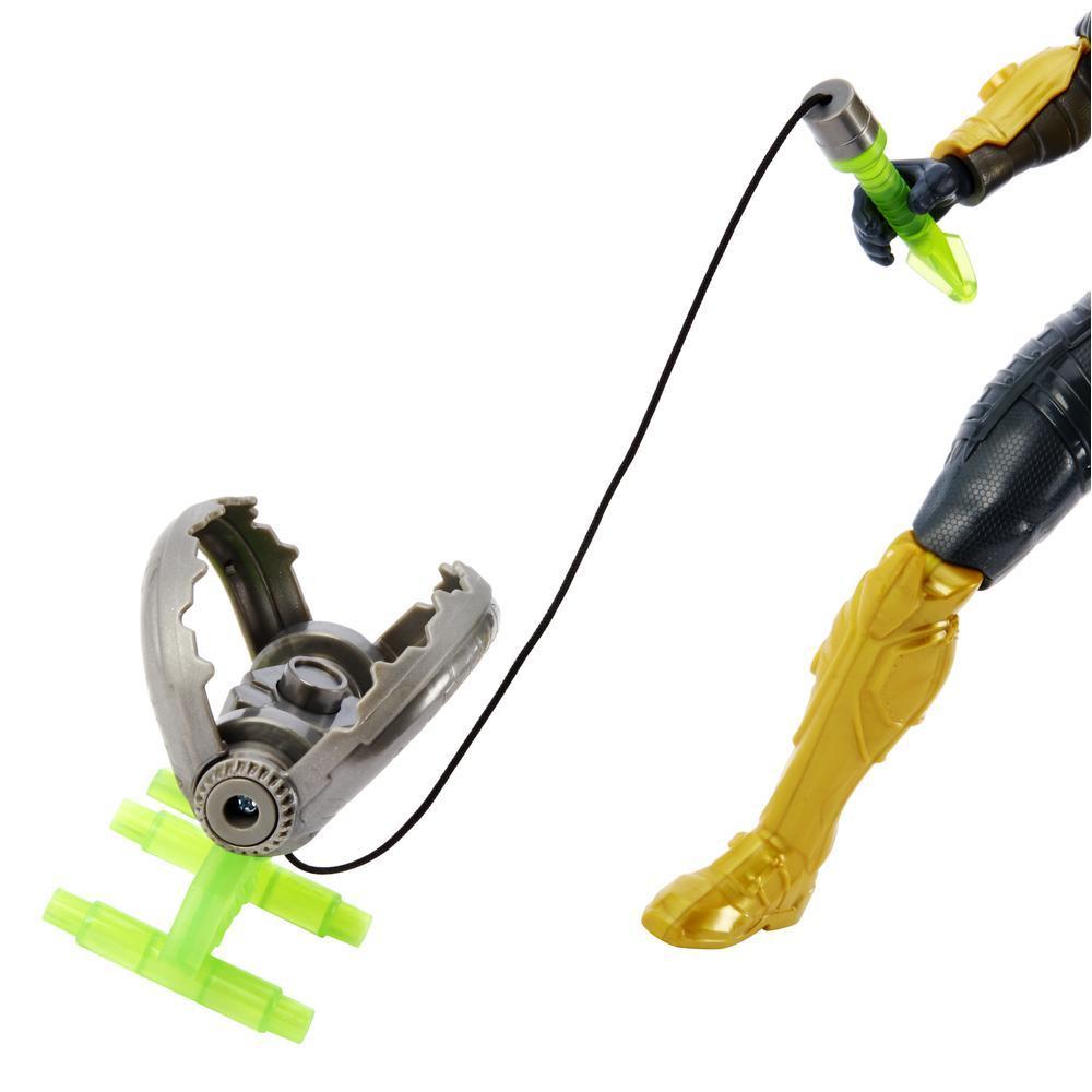 Boneco Max Steel 30cm Turbo Armadilha 11 Articulações Mattel