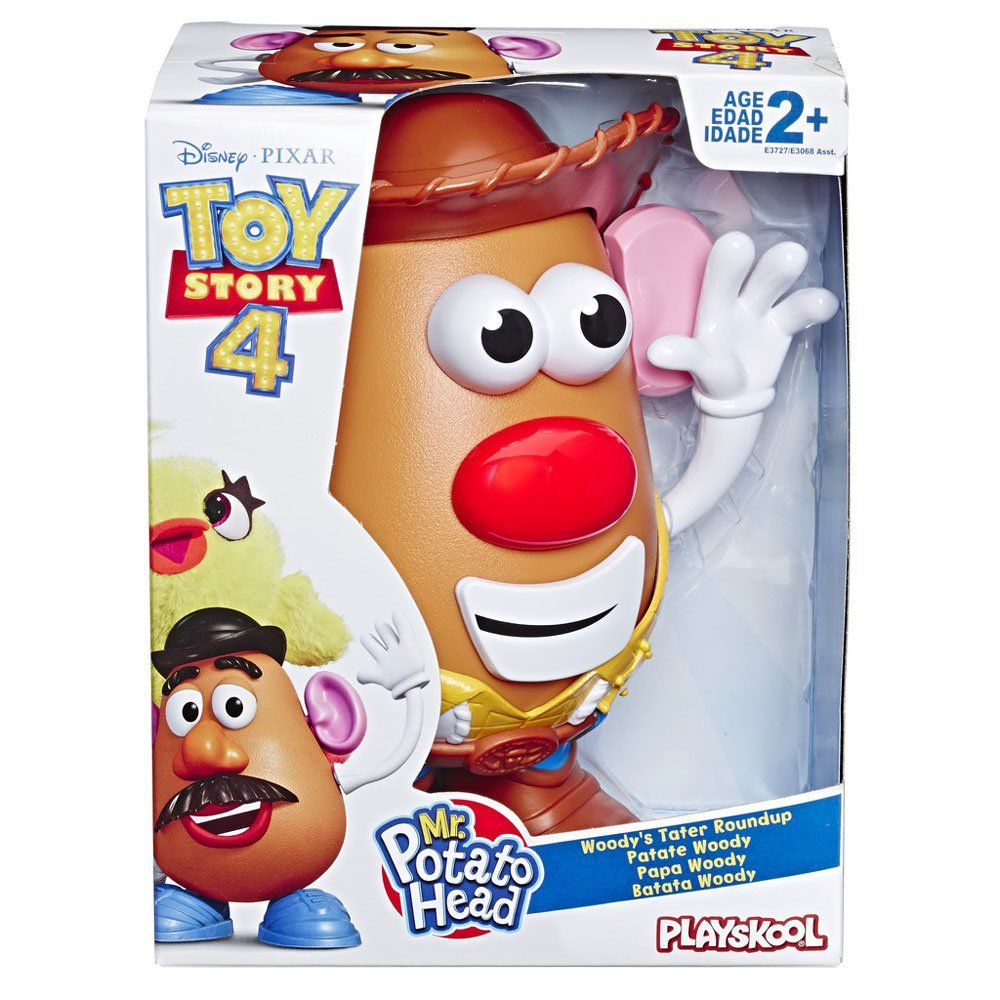 Boneco Mr Potato Wood -  Brinquedo Toy Story 4 - Hasbro E3068