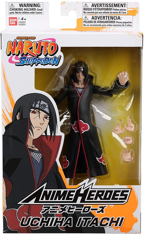 Boneco Naruto Shippuden Anime Heroes - Uchiha Itachi Bandai