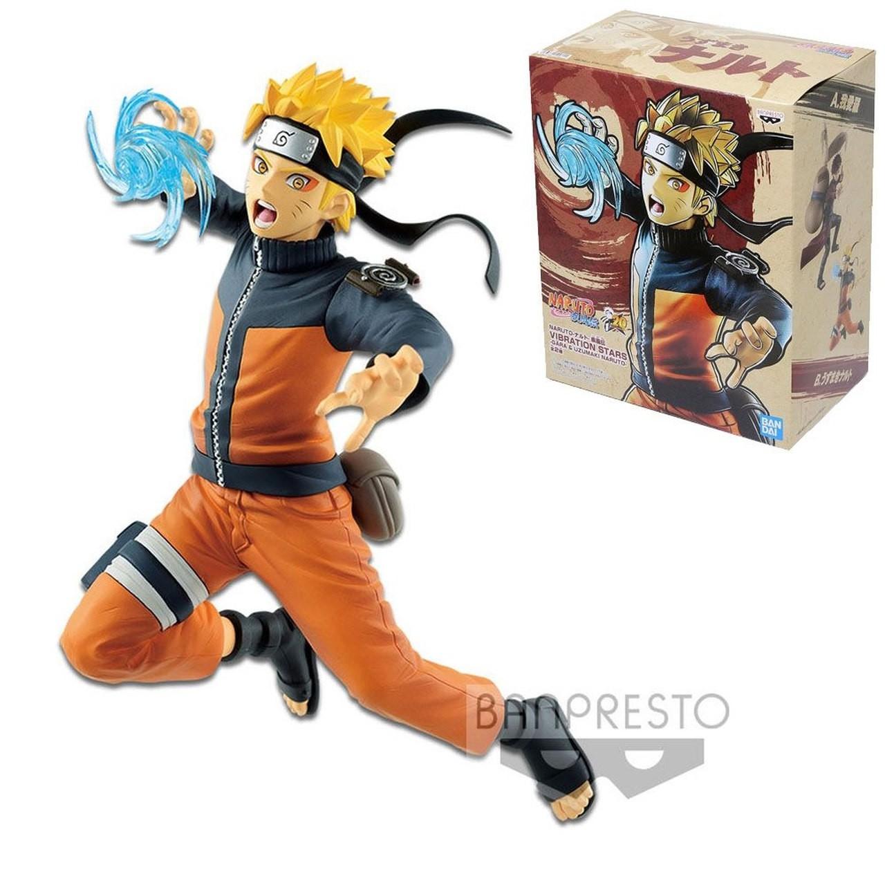 Boneco Naruto Uzumaki Sage Mode - Vibration Stars Banpresto