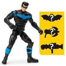 Boneco Nightwing - DC 3 Acessorios Misteriosos - Spin Master