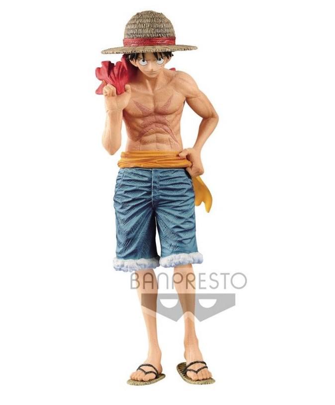 Boneco One Piece - Monkey D Luffy - Magazine - Banpresto