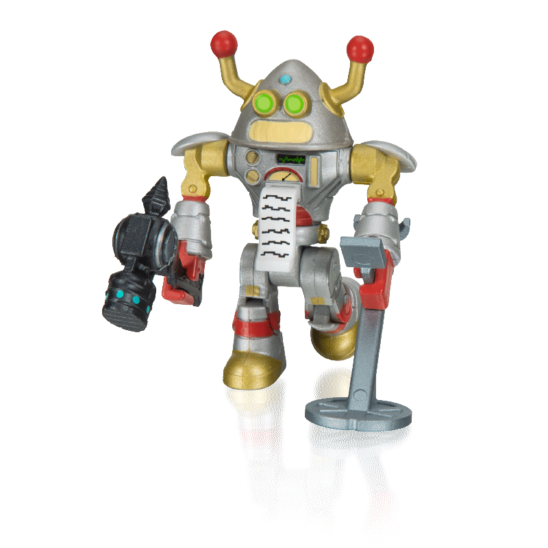 Boneco Roblox - Brainbot 3000 e acessórios + Código Virtual