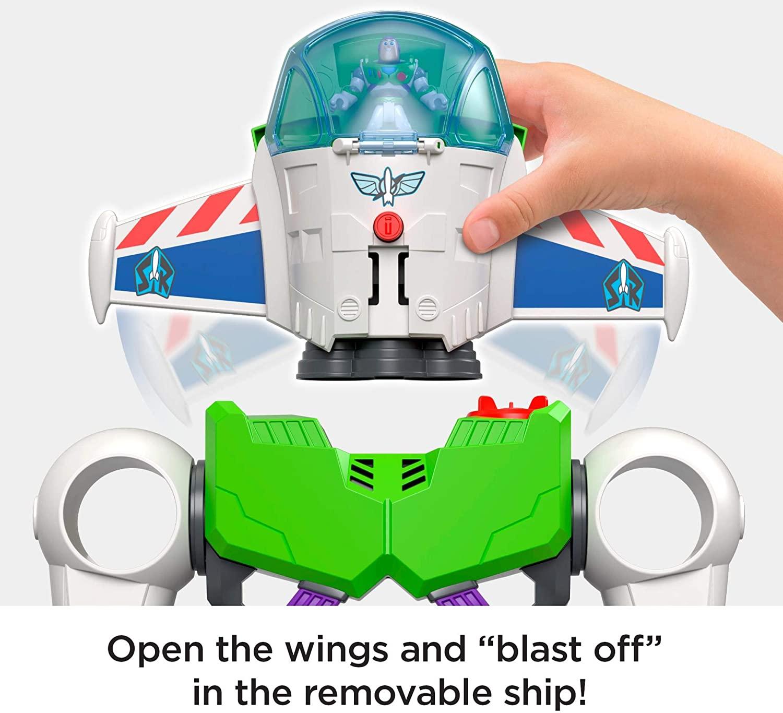 Boneco Robô - Toy Story - Buzz Lightyear - Imaginext - GBG65