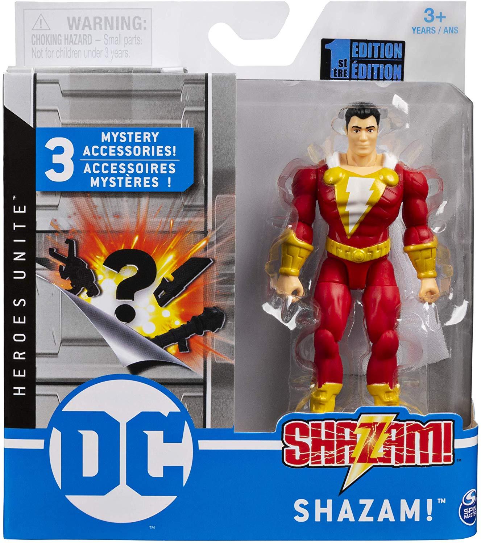 Boneco Shazam  - DC 3 Acessorios Misteriosos - Spin Master