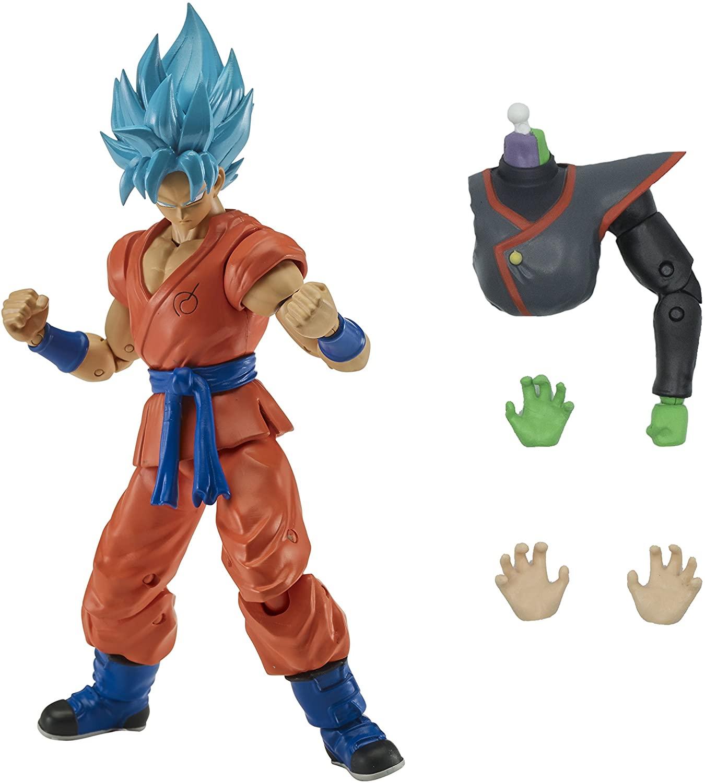 Boneco Super Saiyajin Goku 15cm - Dragon Ball Stars - Bandai
