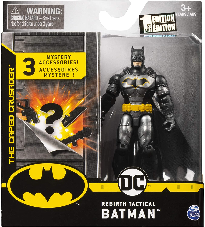 Boneco Tactical Batman  - DC 3 Acessorios Misteriosos - Spin Master