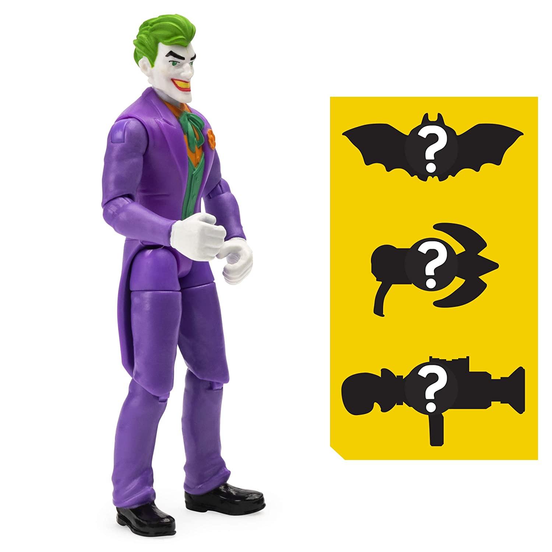 Boneco The Joker ( Coringa ) - DC 3 Acessorios Misteriosos - Spin Master