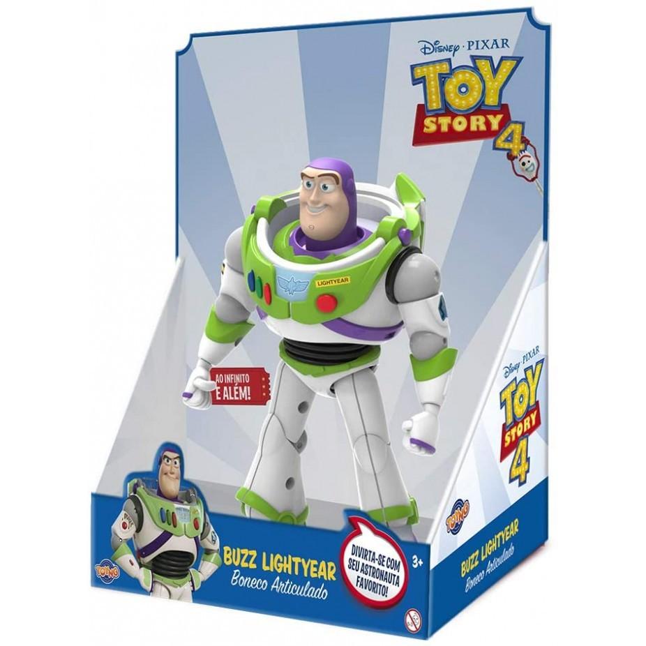 Boneco Toy Story - Buzz Lighteyear 25cm - Toyng Disney Pixar