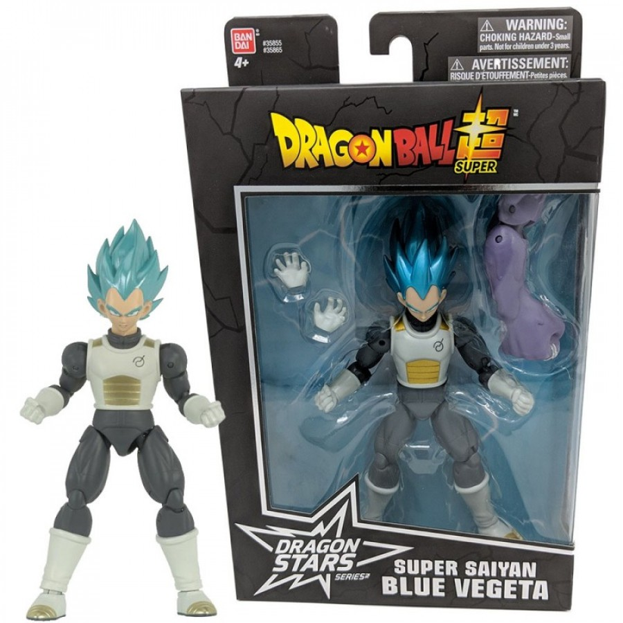 Boneco Vegeta Super Saiyajin 15cm - Dragon Ball Stars Bandai