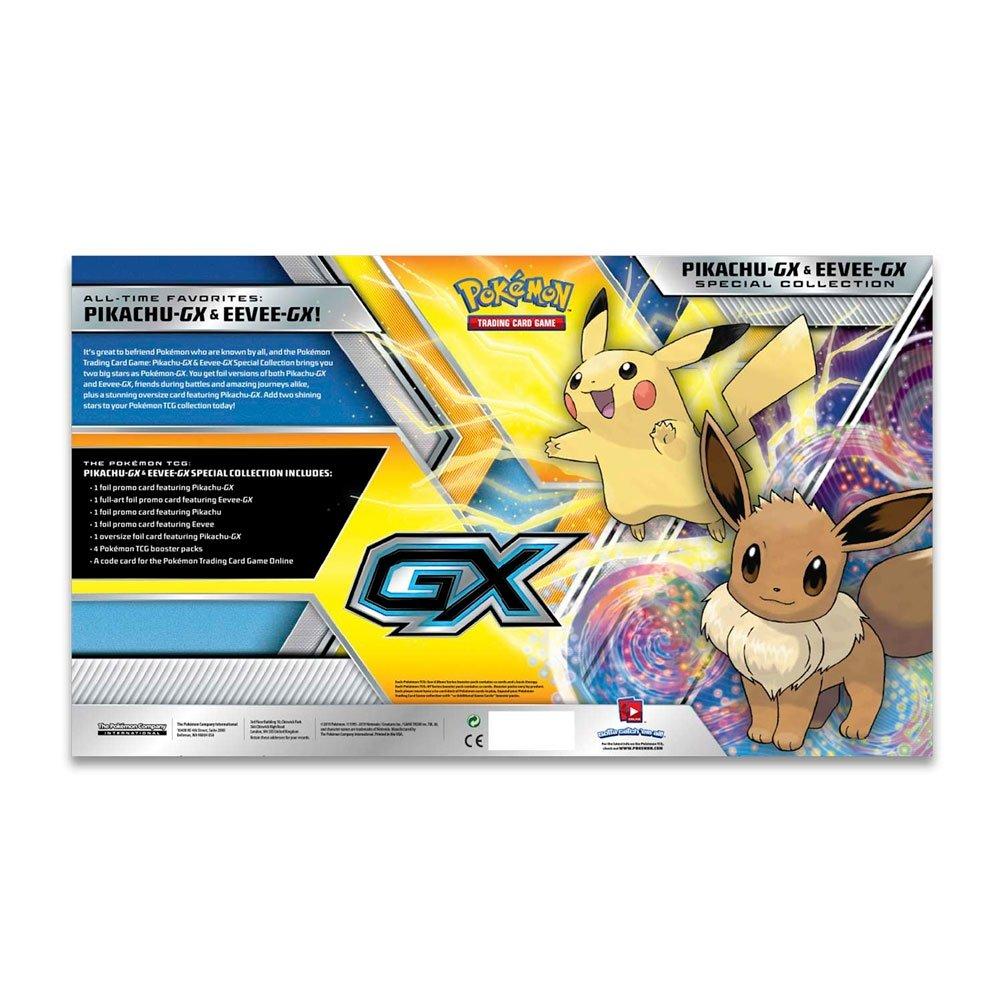 Box Pokémon TCG Coleção Especial Pikachu-GX & Eevee-GX - Copag