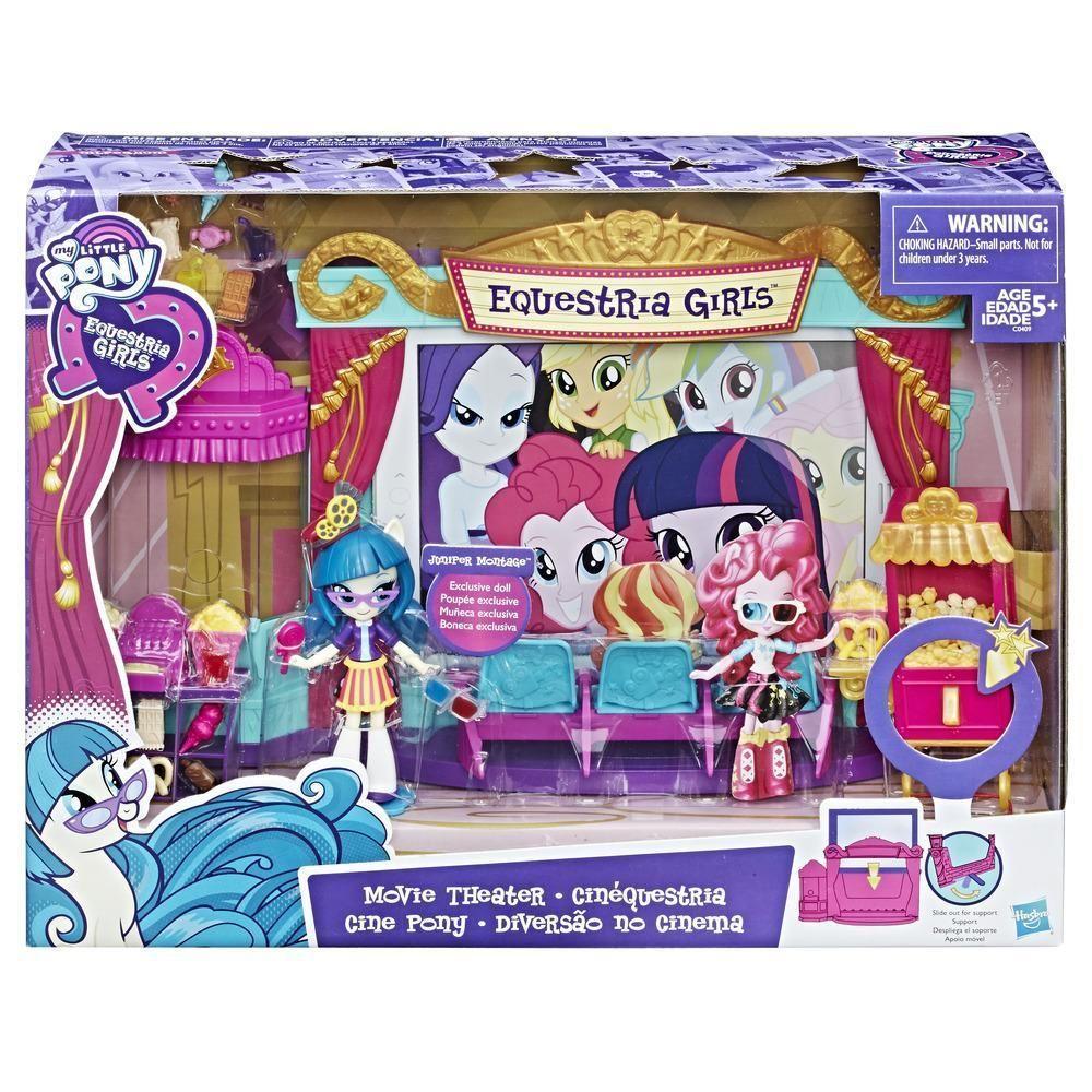 Brinquedo My Little Pony - Equestria Girls -  Diversão no Cinema - Hasbro