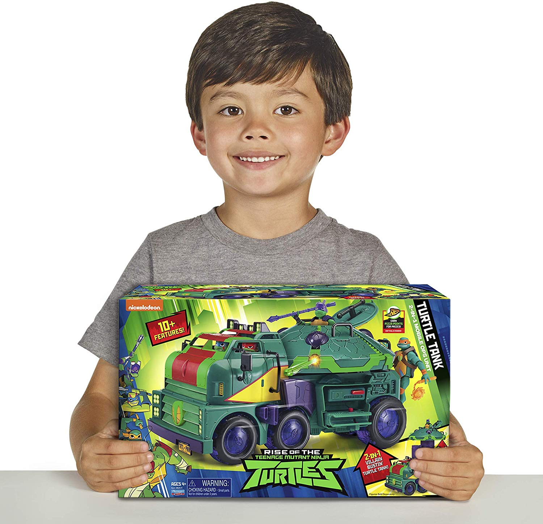 Brinquedo Tartarugas Ninja - Tanque de Ascensão 2 em 1 Sunny