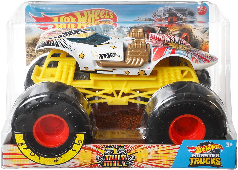 Carro Hot Whells Monster Truck 1:24 - Twin Mill - Mattel