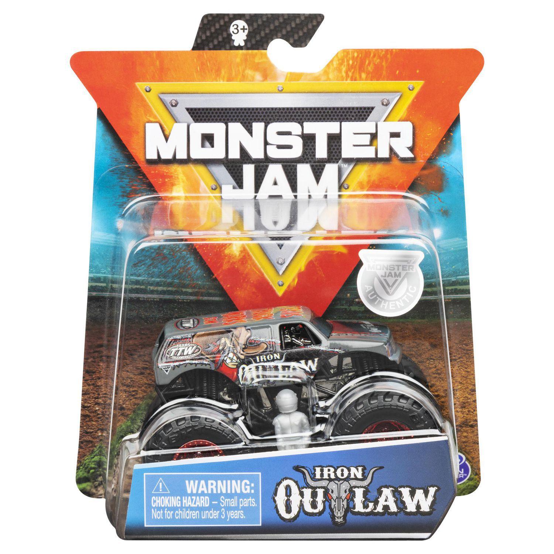 Carro Monster Jam Truck - Iron Outlaw- Escala 1:64  Original