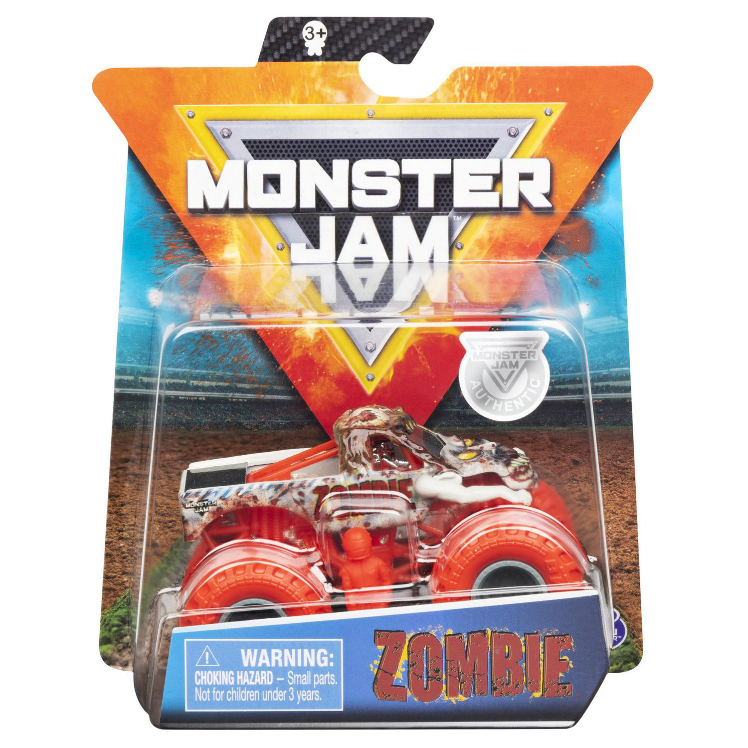 Carro Monster Jam Truck - Zombie - Escala 1:64 - Original