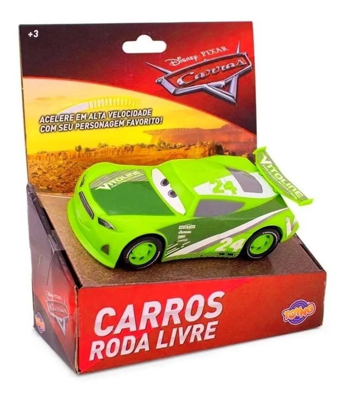 Carros Brinquedo - Brick Yardley - 13 cm - Toyng Disney