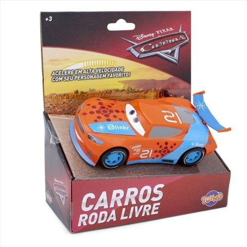 Carros Brinquedo - Carrinho Rayan Laney 13 cm - Toyng Disney