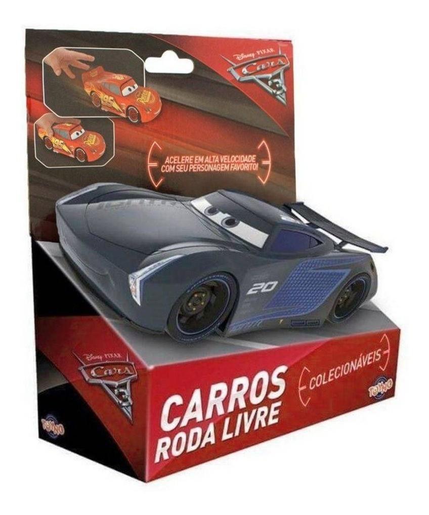 Carros Brinquedo - Jacksom Storm - 13 cm - Toyng Disney