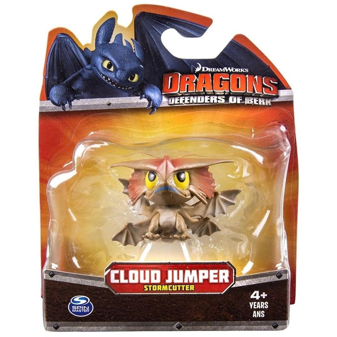 Como Treinar Seu Dragão 3 - Dragão Pula Nuvem Mini Figura