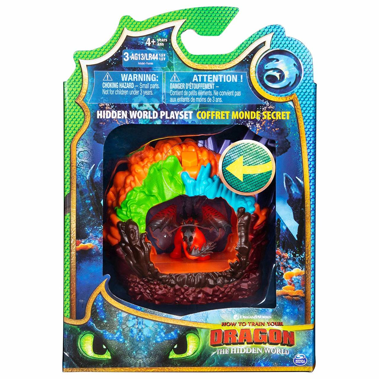 Como Treinar Seu Dragão 3 - Playset Caverna Do Dragão 1