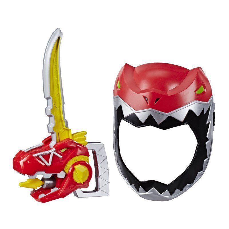 Power Rangers T Rex - Conjunto Máscara E Espada  - Hasbro - E6359