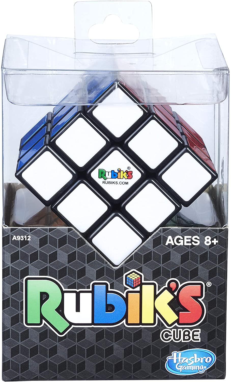 Cubo Mágico Rubiks 3X3 - Quebra Cabeça - Com base - Hasbro