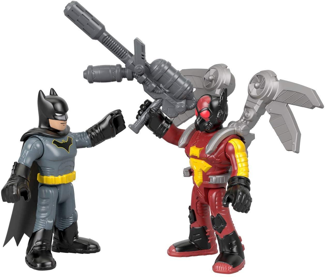 Dc Super Friends Imaginext - Batman & Firefly - Mattel