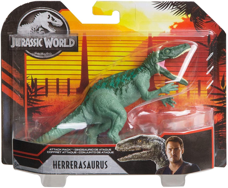 Dinossauro Herrerasaurus Jurassic World Attack Pack - Mattel