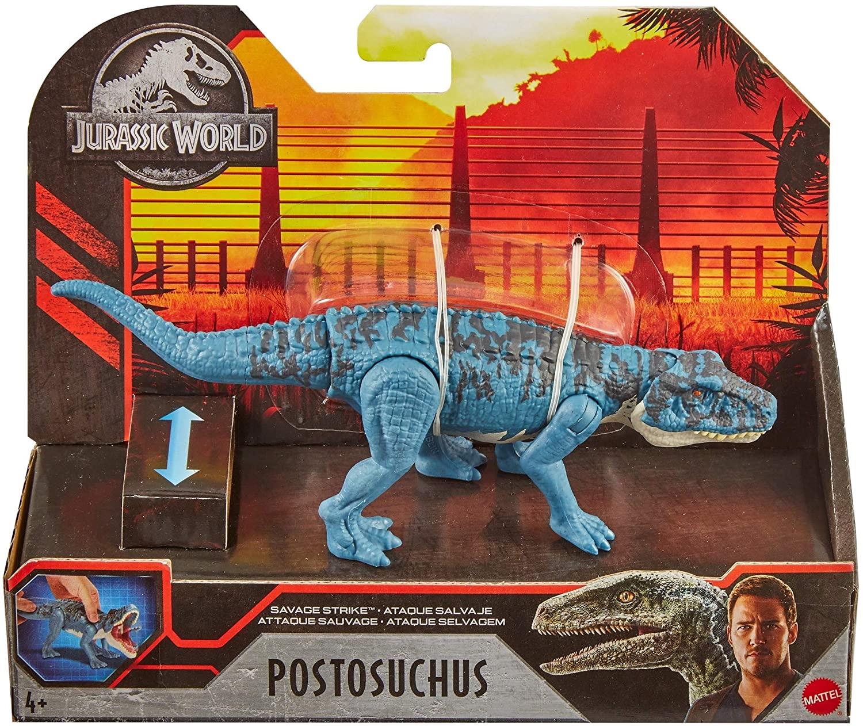 Dinossauro Postosuchus Jurassic World Savage Attack - Mattel