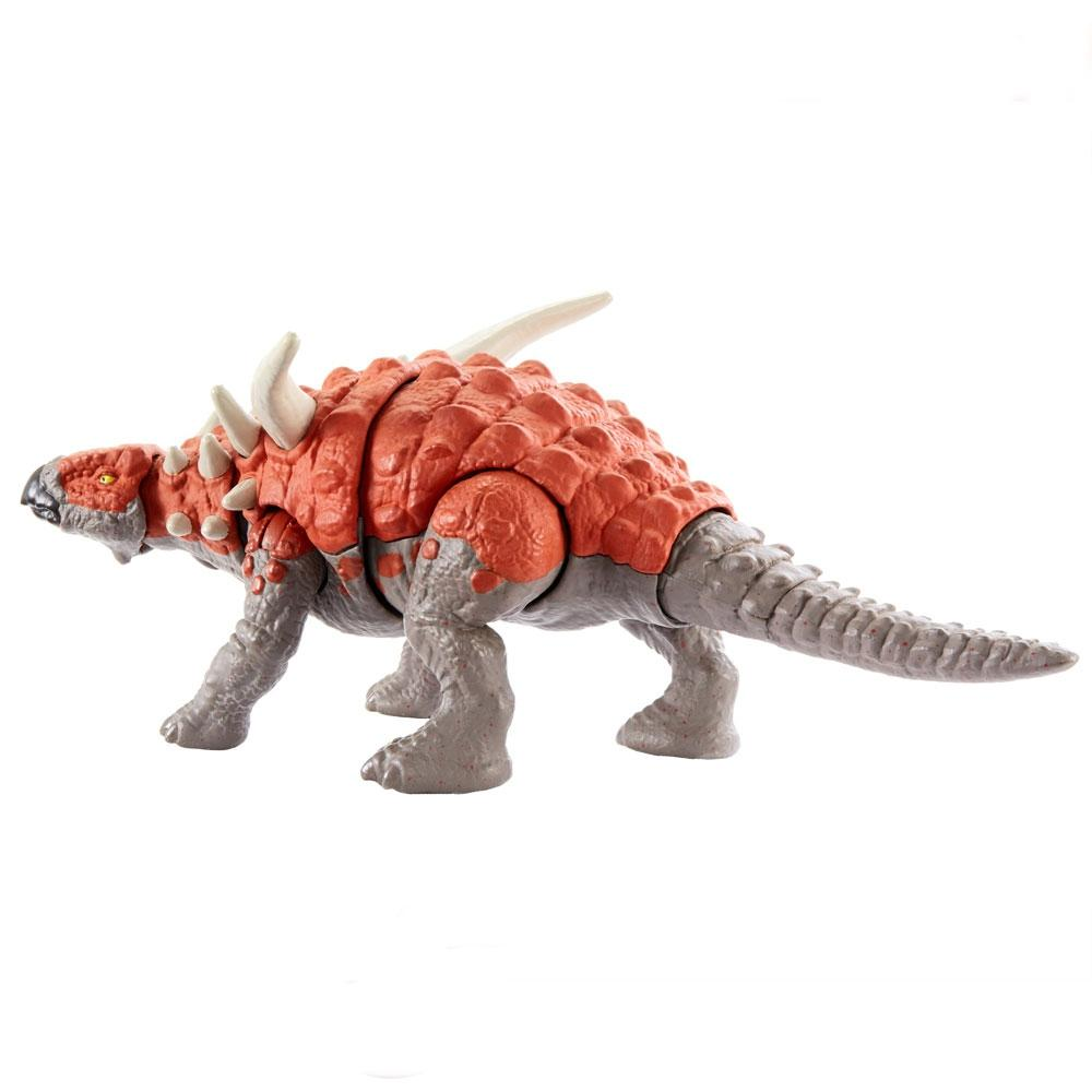 Dinossauro Sauropelta Jurassic World Savage Attack - Mattel