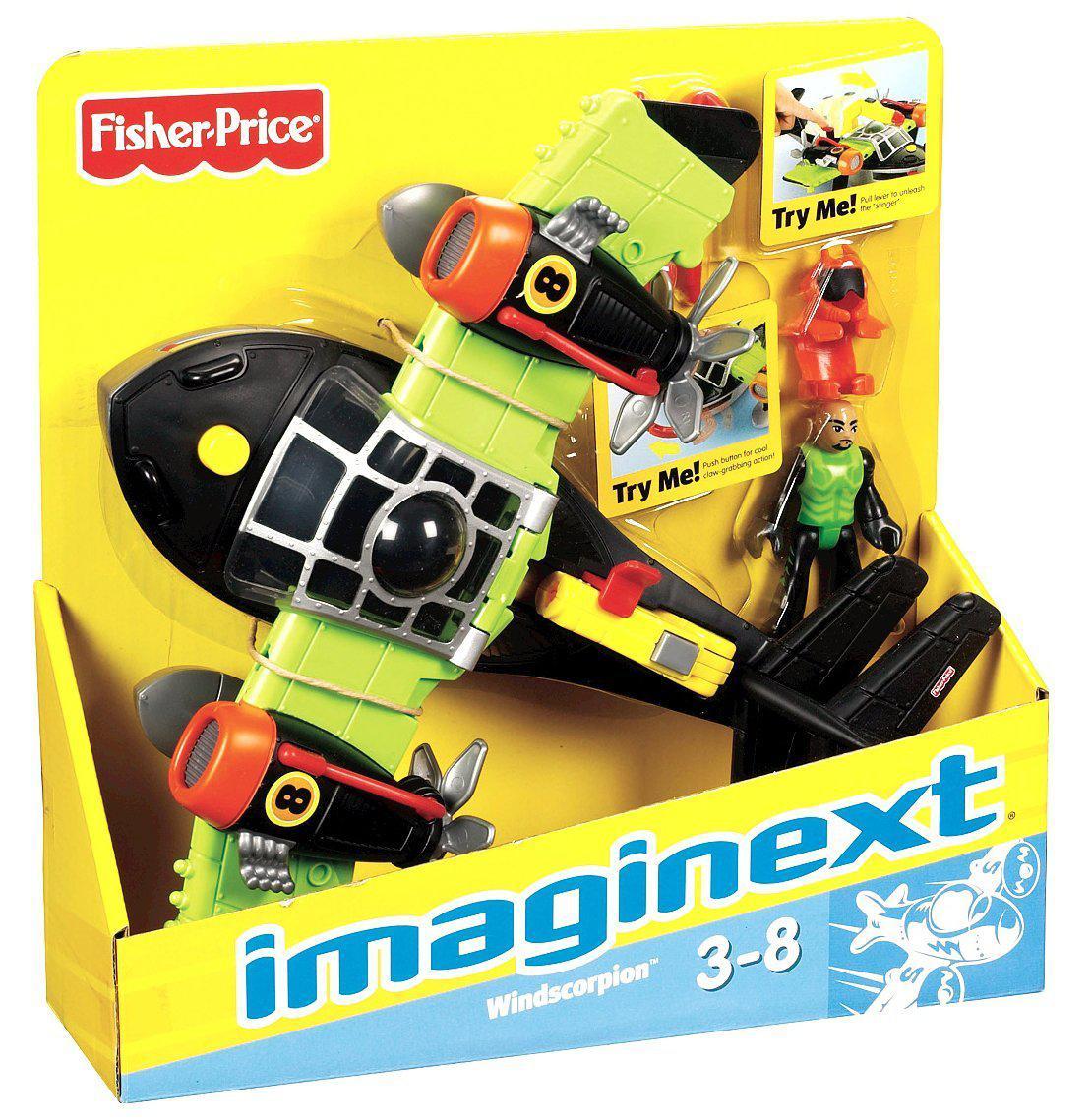Imaginext Super Aviões Sky Race - Escorpião Ventos - Mattel