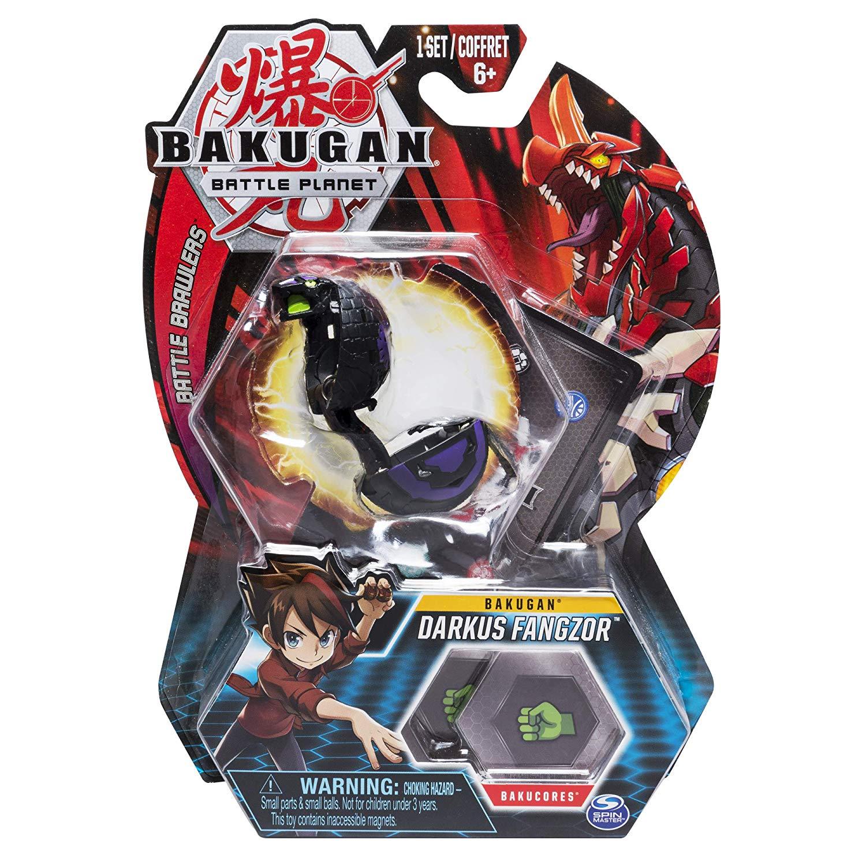 Esfera Bakugan Básico - Darkus Fangzor - Sunny Original