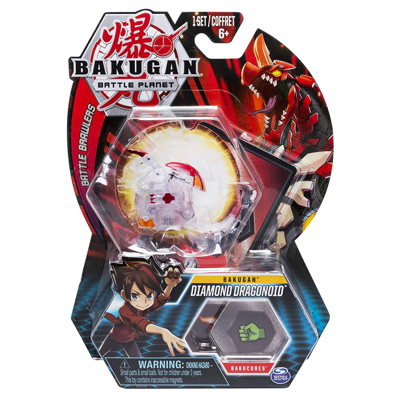 Esfera Bakugan Básico - Diamond Dragonoid - Sunny Original