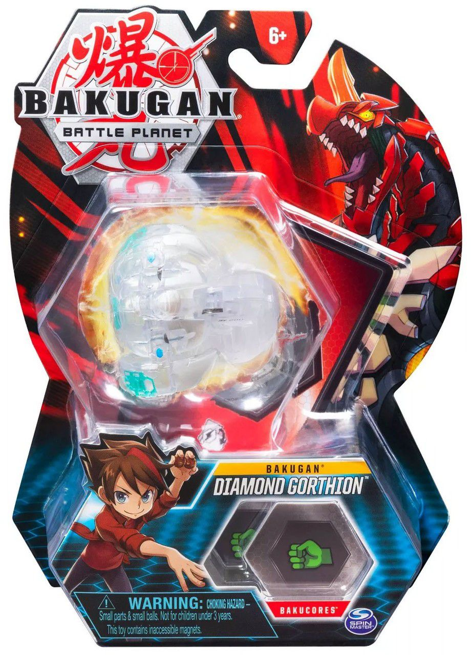 Esfera Bakugan Básico - Diamond Gorthion - Sunny Original