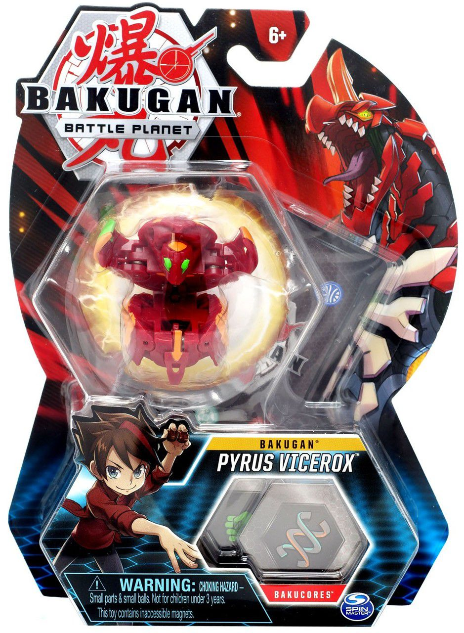 Esfera Bakugan Básico - Pyrus Vicerox - Sunny Original