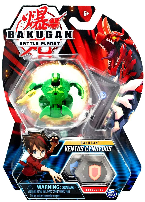 Esfera Bakugan Básico - Ventus Cyndeous - Sunny Original