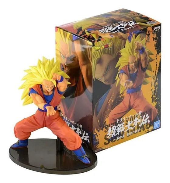 Figura Dragon Ball Super - Son Goku Super Saiyajin 3 Bandai