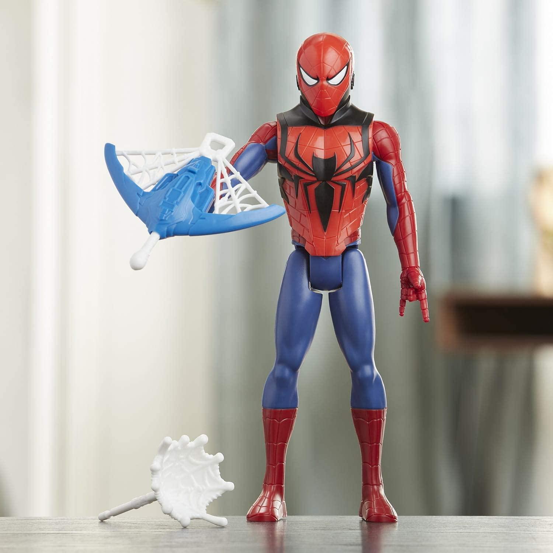 Figura Homem Aranha - Avengers Blast Gear - Hasbro E7344