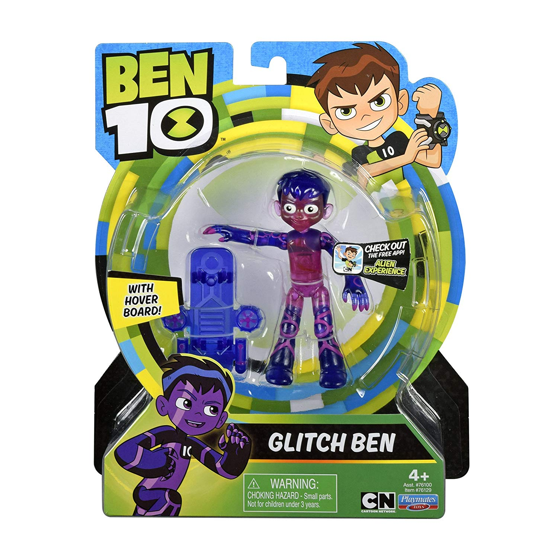 Figuras De Ação Ben 10 - Ben Glitch - Original Sunny