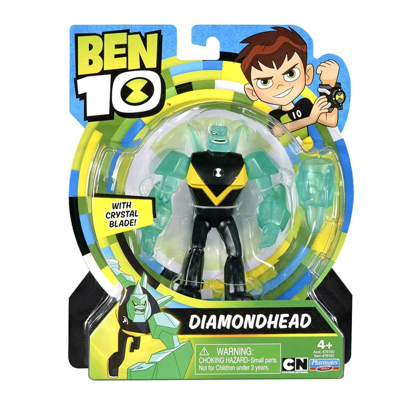 Figuras De Ação Ben 10 - Boneco Diamante - Original Sunny