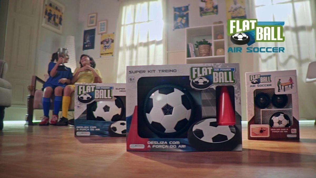 Flat Ball Air Power - Kit Treino c/ 4 Cones - Multikids BR394
