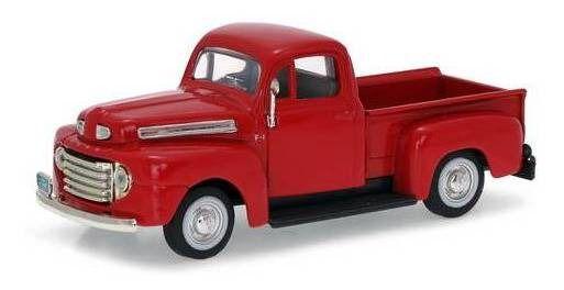 Ford - F-1 Pick Up Vermelho ( 1948 ) - Yat Ming 1/43
