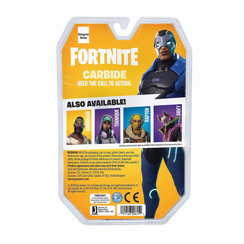 Fortnite - Boneco Carbide - Solo Mode - 11 cm - Original