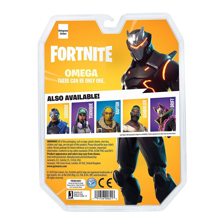 Fortnite - Boneco Omega - Survival Kit - 11 cm - Original