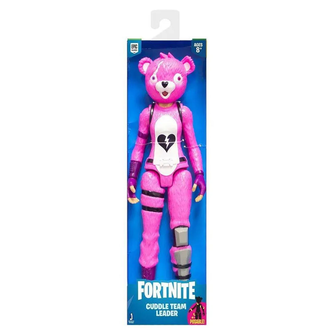 Fortnite - Figura Boneco Cuddle Team Leader - 30 cm Original