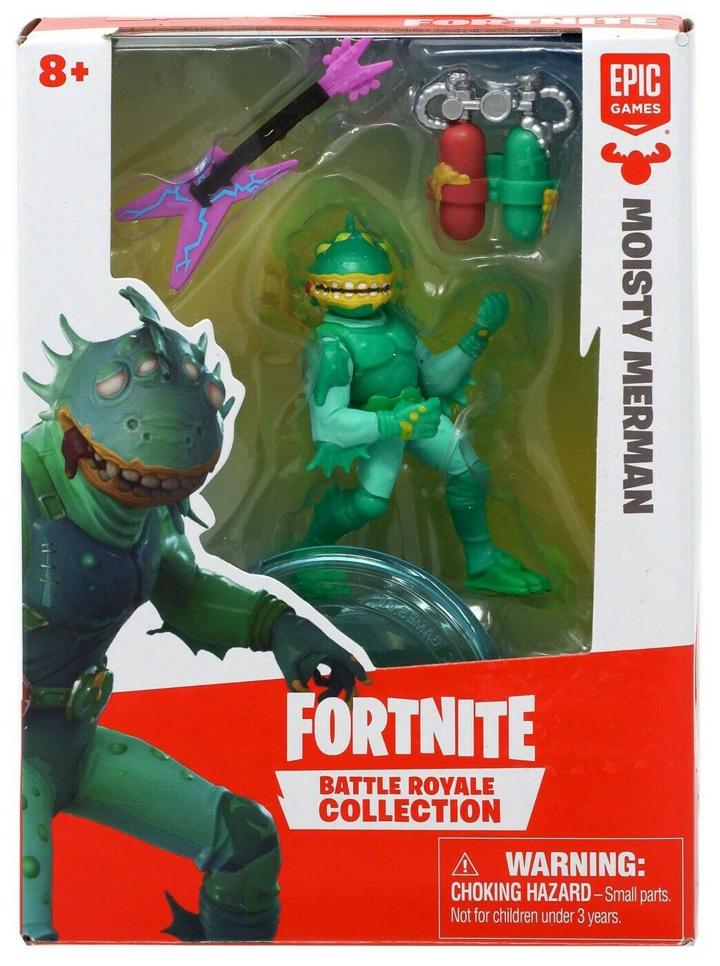 Fortnite Mini Figura Moisty Merman Battle Royale Collection - Original