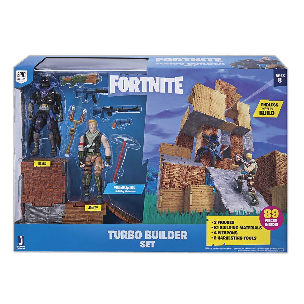 Fortnite Pack 2 Figuras e Acessórios 89 Pcs - Turbo Builder
