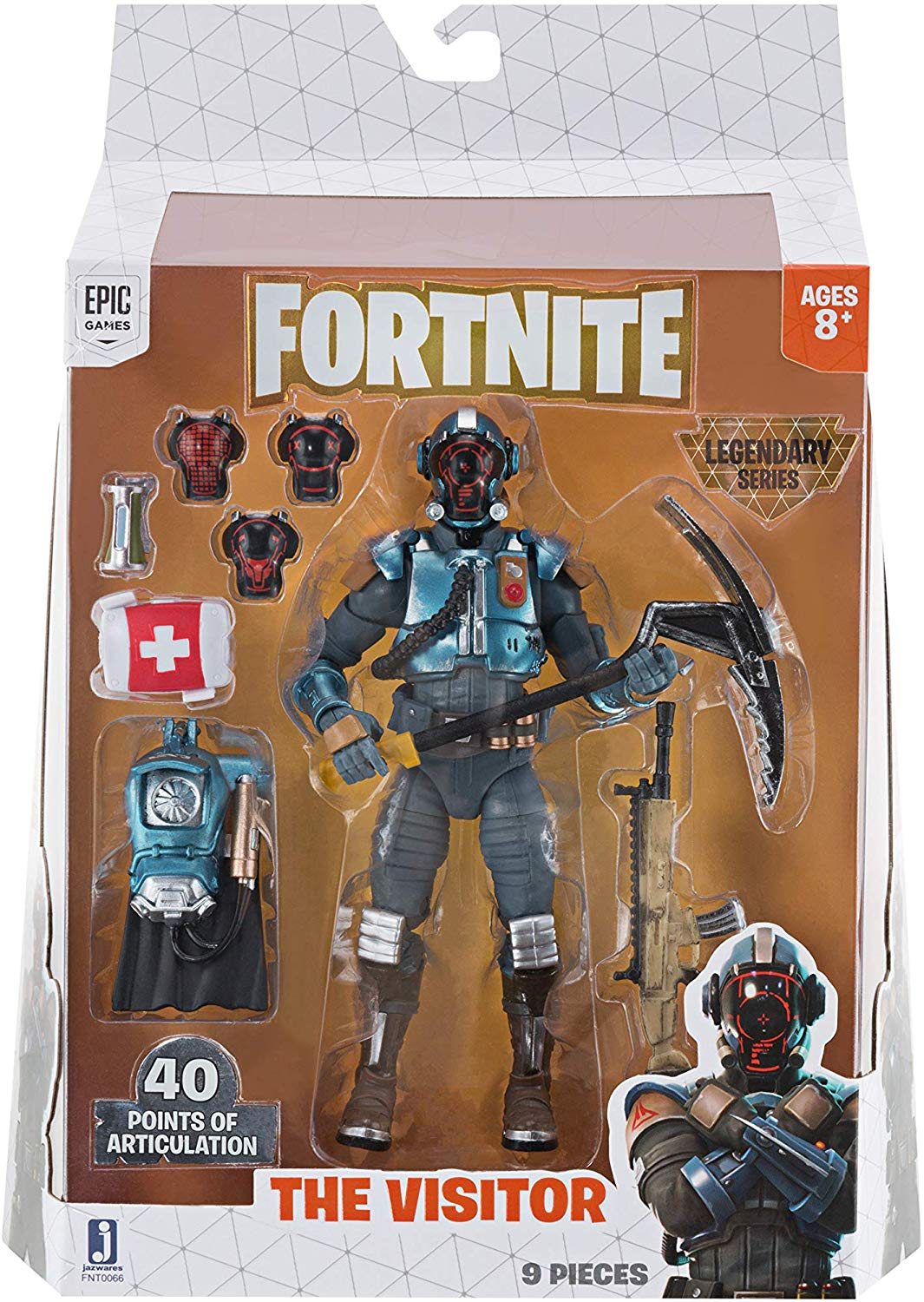 Fortnite Serie Legendária - The Visitor - 15 cm - Original